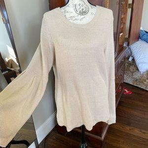 Crown & Ivy Beige Sweater size XL